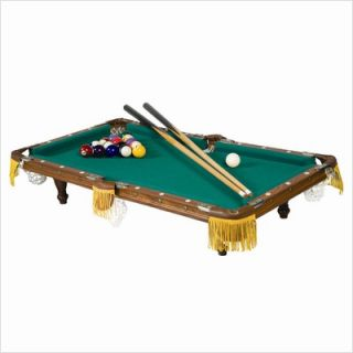 Franklin Sports 32 Billiards Pool Table Without Ball Return 14016