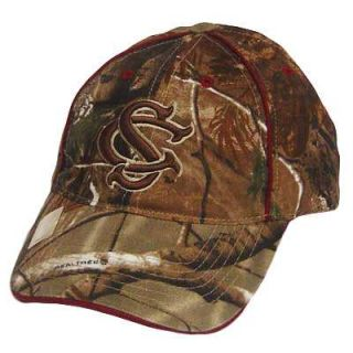 NCAA South Carolina Gamecocks Camo Baseball Cap Hat
