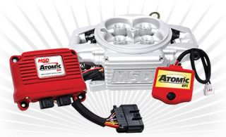 Early Ford Bronco MSD Atomic EFI Kit