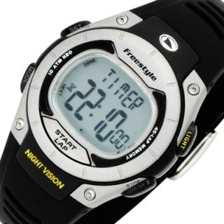 FREESTYLE Recon Chronograph Digital Sport New Watch Black Rubber Band
