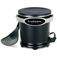 Cup Electric Frydaddy Deep Fryer Cooker Aluminum Non Stick