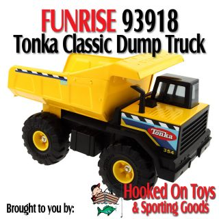 Funrise 93918 Tonka Classic Mighty Steel Dump Truck Lifetime GUARANTEE