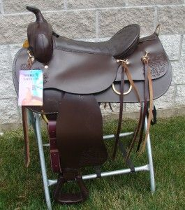 Western Pleasure Trail Gaited Saddle 16 Doublet