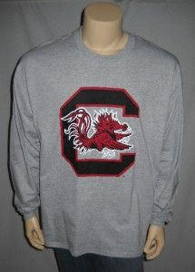 University of South Carolina Gamecocks Long Sleeve Gray T Shirt
