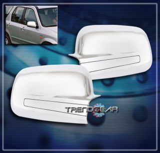 HONDA CR V SIDE DOOR MIRROR COVERS TRIM INSERT CHROME 2003 2004 2005