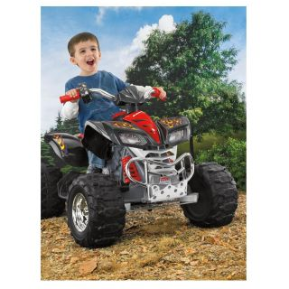 Power Wheels Fisher Price Kawasaki KFX Quad Ride on Toy