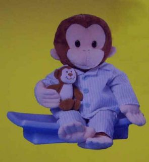 Curious George 12 Doctor Plush Monkey Soft and Cuddly