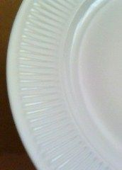 Royal Copenhagen Georgiana Lunch Luncheon Plate White Porcelain #129 c