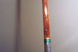 Vintage Fishing Rod Montague Split Bamboo Conventional Freshwater Boat