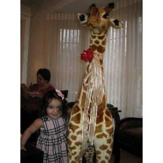 & Doug Giant Giraffe Plush for Kids Toy Large Soft Stuffed Animal