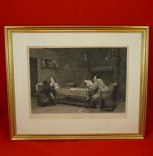 Print A Collaboration Corneille Moliere Jean Leon Gerome Etch