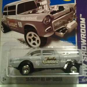Hot Wheels Super Treasure Hunt Custom 1955 Chevy Bel Air Gasser