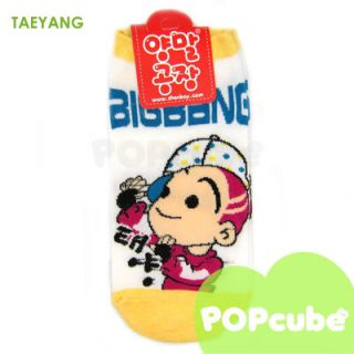 Big Bang Character Socks 3 Set G Dragon Top Taeyang Daesung Seungri