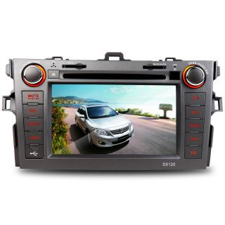 Corolla 2006 2011 Car GPS Navigation DVD Player iPod Radio FM