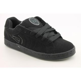 Globe Focus Mens Size 5 Black Nubuck Leather Skate Shoes