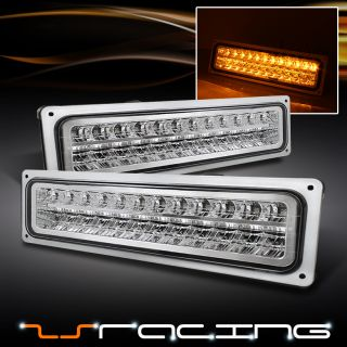 94 C10 Blazer Suburban Tahoe Yukon Sierra LED Bumper Lights Lamps Left