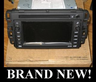 2007 2009 GM Chevy Silverado Nav Navigation DVD Radio CD