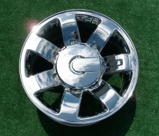New Genuine GM OEM FACTORY Chrome 20 inch WHEELS Chevy GMC 2500HD 2500