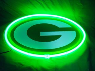 Green Bay Packers Football Beer Bar Neon Light Sign PS003