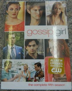 Gossip Girl The Complete Fifth Season DVD 2012