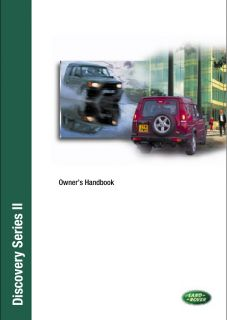 Land Rover Discovery II Repair Workshop Manual 99 03