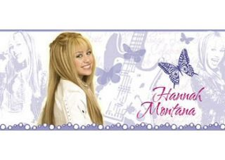 Hannah Montana Girls Rooms Stickup Wall Border Pop Star