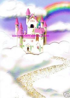 Princess Castle 3 D Happy Birthday Greeting Card