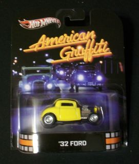 2013 HOT WHEELS RETRO ENTERTAINMENT SERIES AMERICAN GRAFFITI 32 FORD