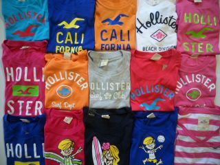 Hollister by Abercrombie Fitch Womens Graphic Tee T Shirt
