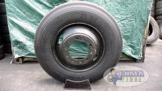 Hankook AH12 Radial Ums 11R22 5 Truck Tire Wheel