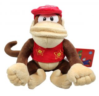 Authentic Brand New Global Holdings Super Mario Plush   6 Diddy Kong