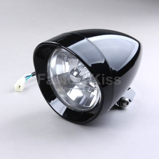 Bullet Motorcycle Headlight for Harley Davidson Chopper 40