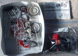 Model Kit Junkyard Box of Harley Davidson Motorcycle Parts
