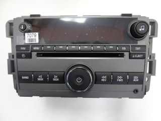 07 08 GMC CHEVY Suburban Avalanche Tahoe Silverado Radio 6 Disc CD