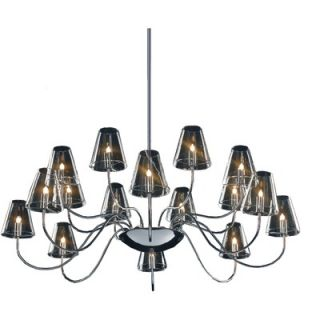 World Imports Lighting Uptown 6 Light Contemporary Chandelier   8246