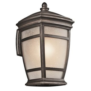 Kichler Venetian Rain Outdoor Wall Lantern in Bronze   49130BRZ