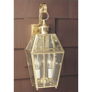 Norwell Lighting Olde Colony 17 Two Light Outdoor Wall Mount Lantern