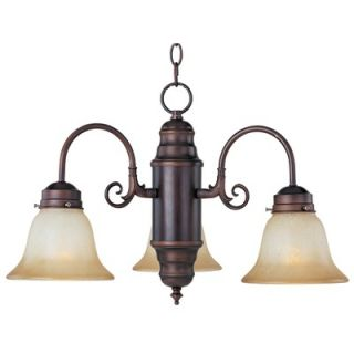 Maxim Lighting Builder Basics 3 Light Mini Chandelier   91196MRSN