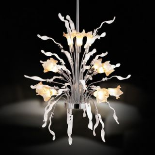 Elegant Lighting Spiral 45 Light Chandelier