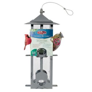 Perky Pet Pewterin Squirrel Be Gone Bird Feeder