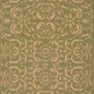 Safavieh Courtyard Light Green/Tan Rug   CY6634 44