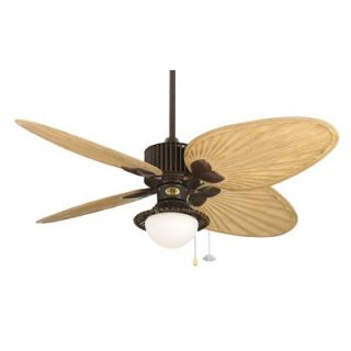 Fanimation 52 Louvre Ceiling Fan   FP1320RS /