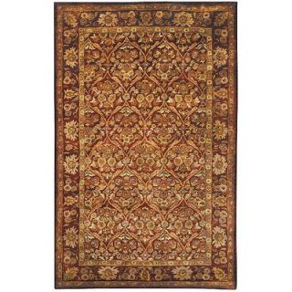 Safavieh Antiquities Garden Panel Wine/Gold Rug