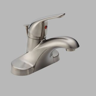 Delta Centerset Bathroom Faucet with Single Handle   B510LF SSPPU