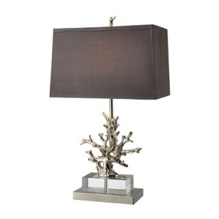 Dimond Lighting Covington One Light Table Lamp in Polished Nickel