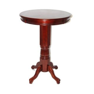 Boraam Florence Pedestal Pub Table in English Tudor