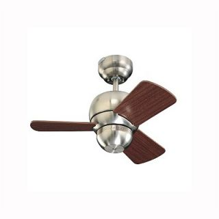 Monte Carlo Fan Company 24 Micro 3 Blade Ceiling Fan with Remote