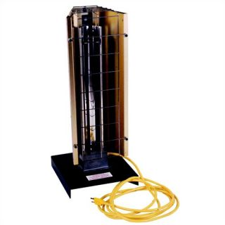Portable (Stand) Electric 6,143 BTU Heavy Duty Infrared Heater