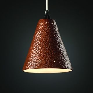 Justice Design Group Radiance 1 Light Pendant