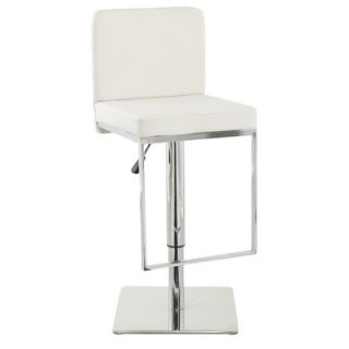 International Design Adjustable Air Lift Bar Stool in Black